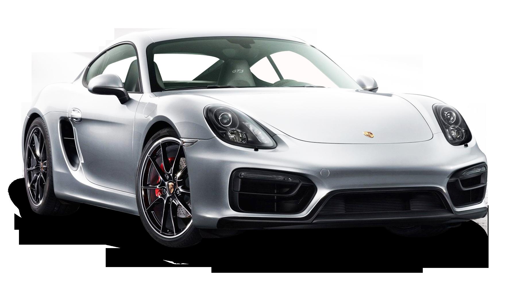 White Porsche Cayman GTS Car