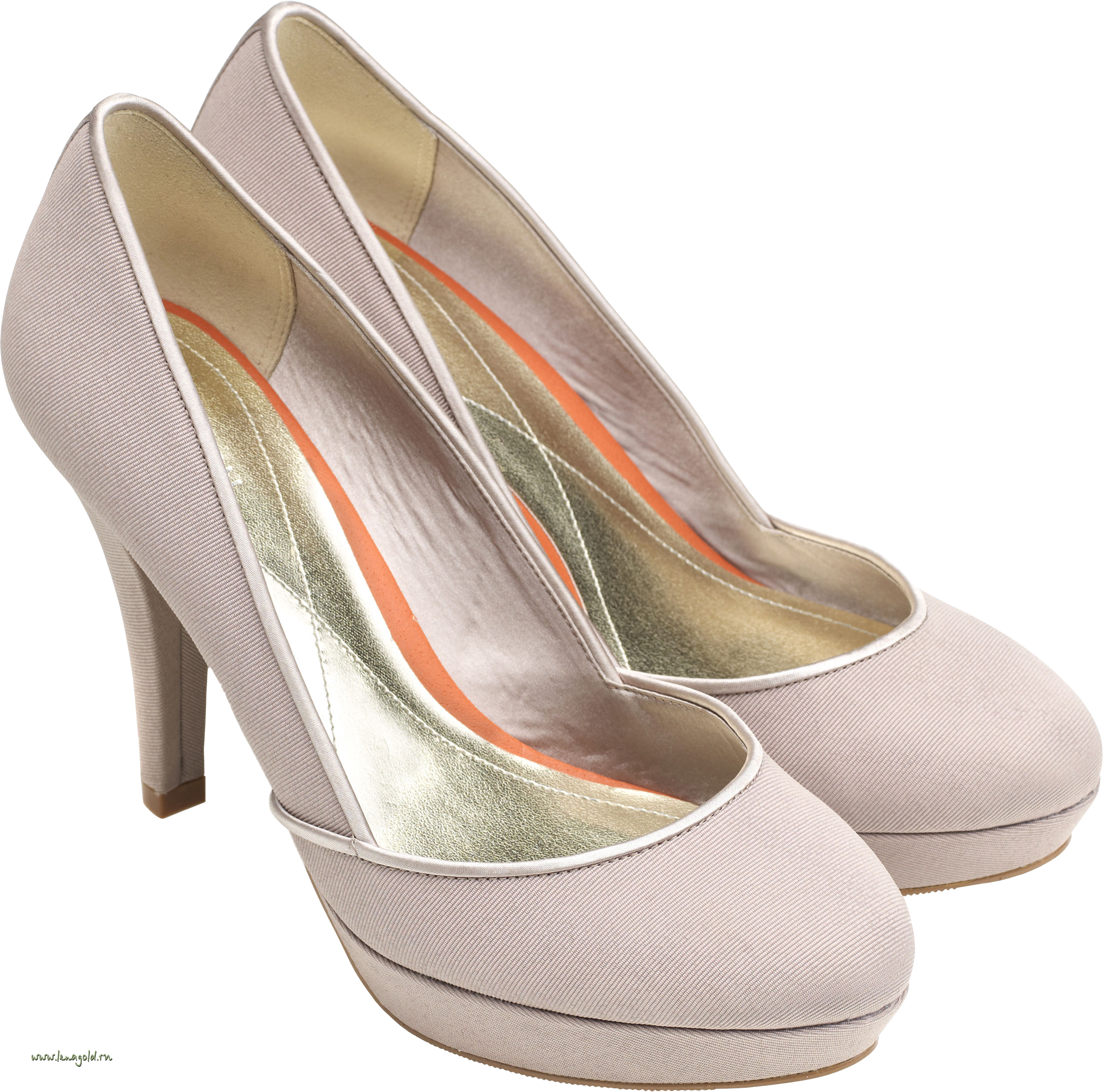 White Women Shoes PNG Image