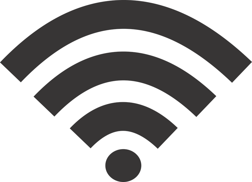 Wifi Icon Black