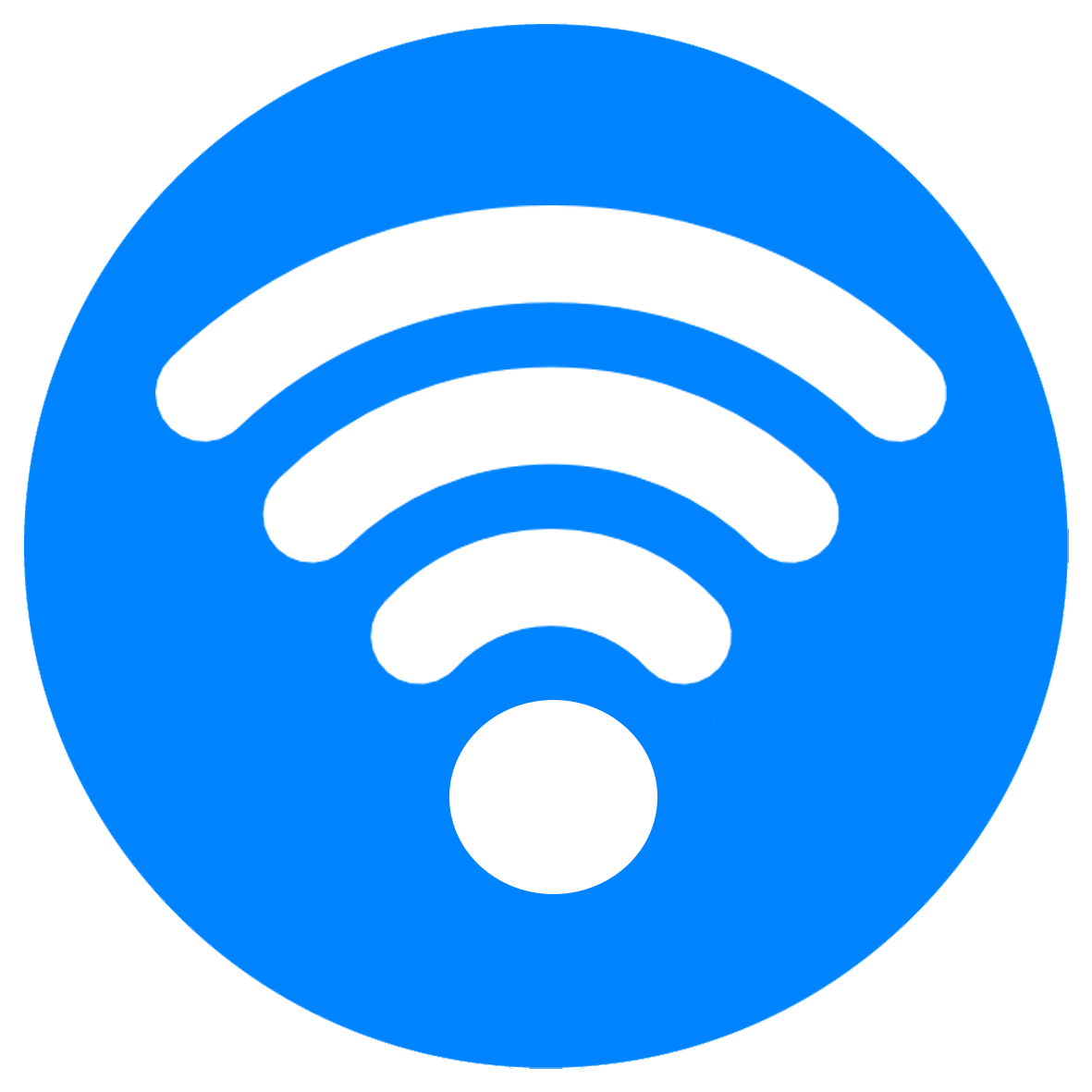 Wifi Icon Blue PNG Image - PurePNG | Free transparent CC0 ...