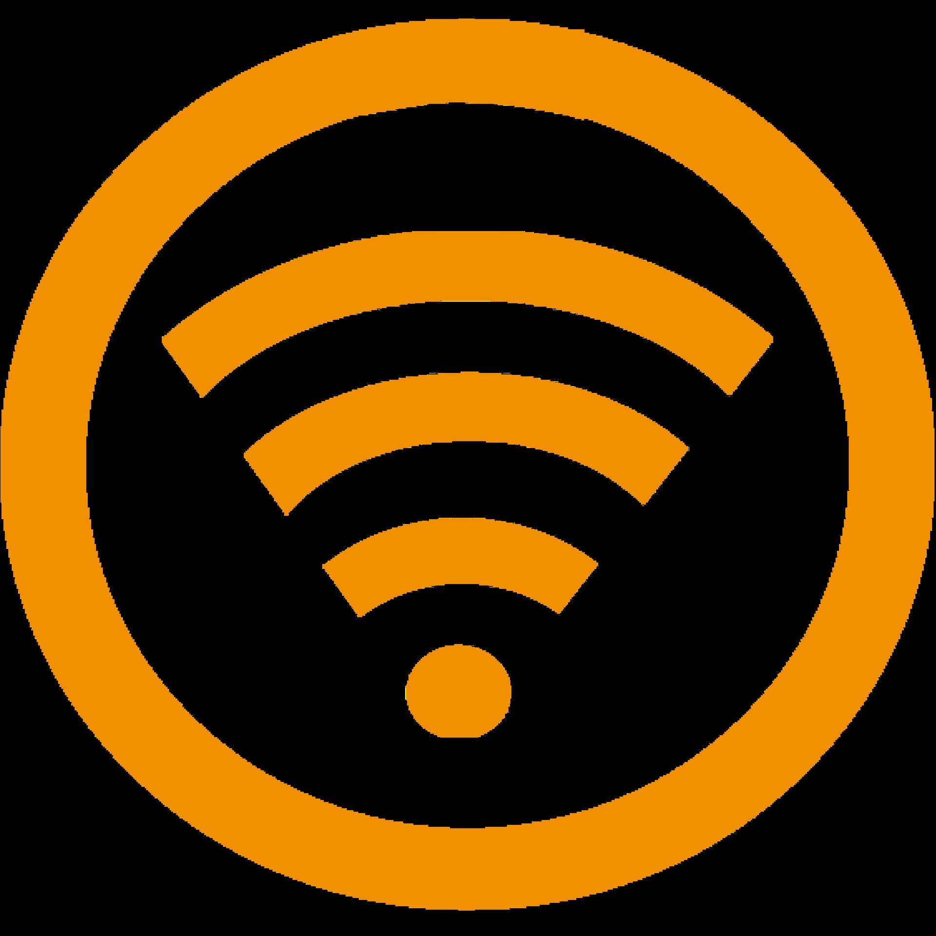 Wifi Icon Yellow
