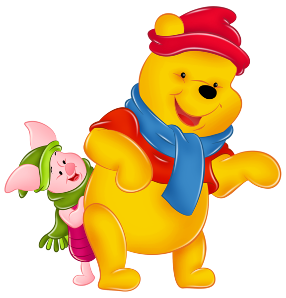 Winnie Pooh And Piglet PNG Image