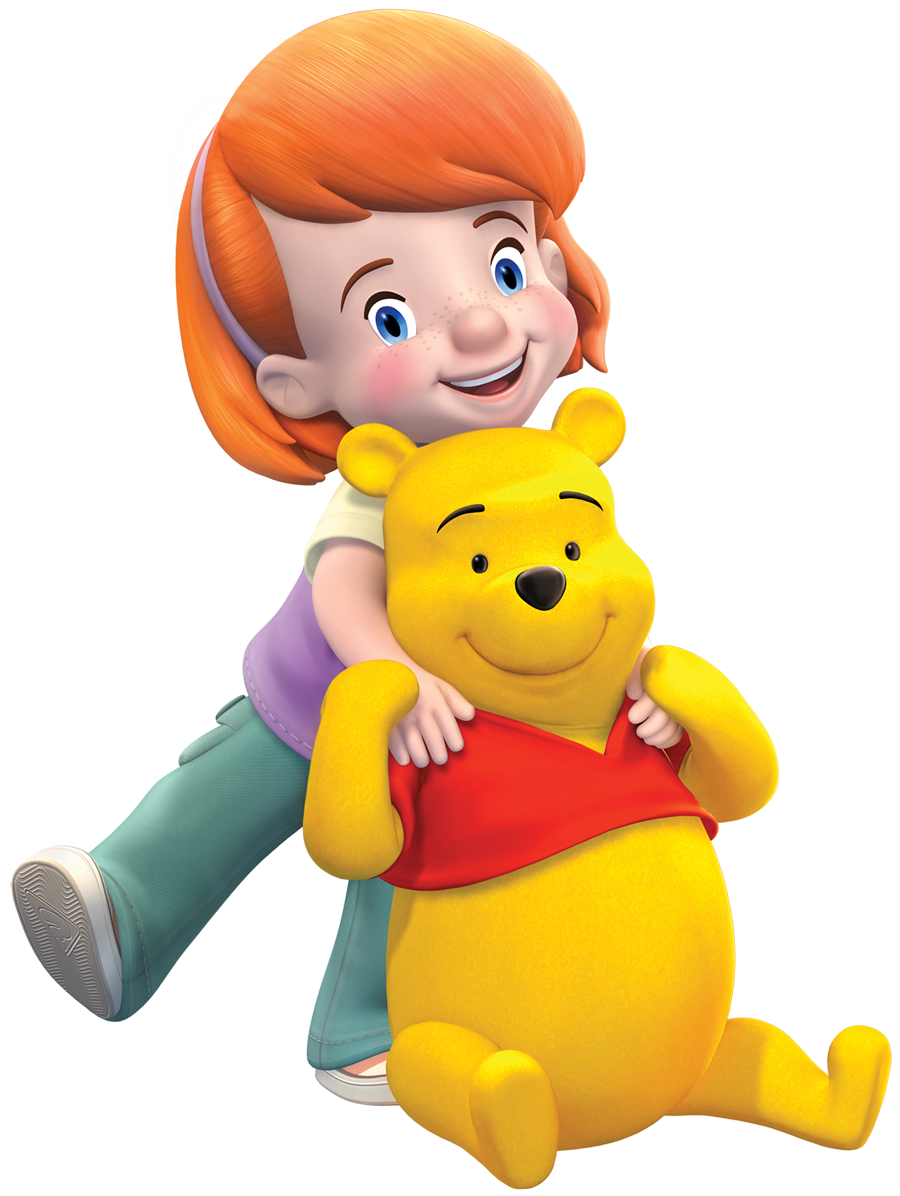 Winnie The Pooh  - Darby PNG Image