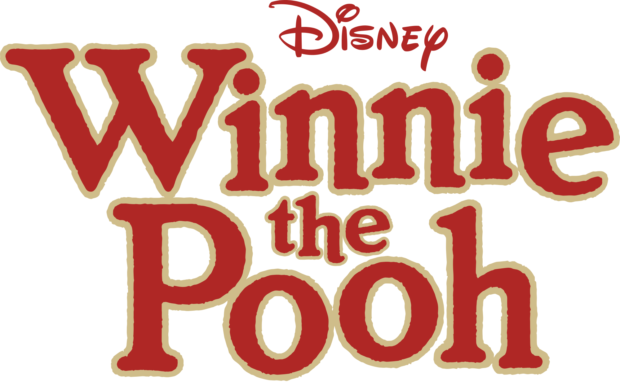 Winnie The Pooh  Logo PNG Image