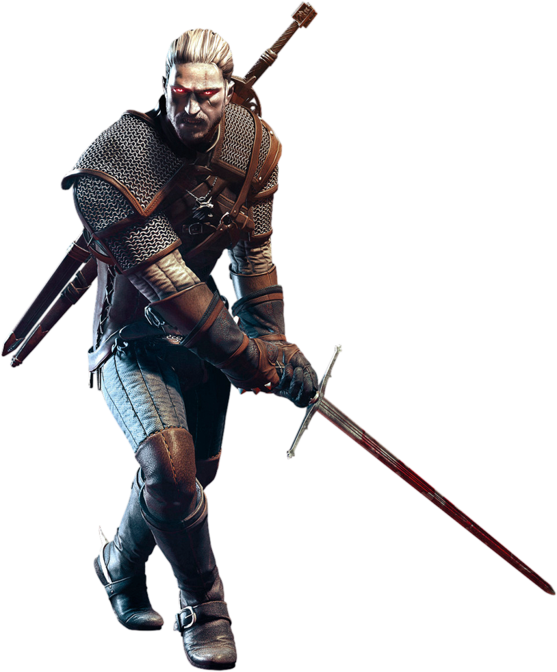 Witcher Geralt PNG Image