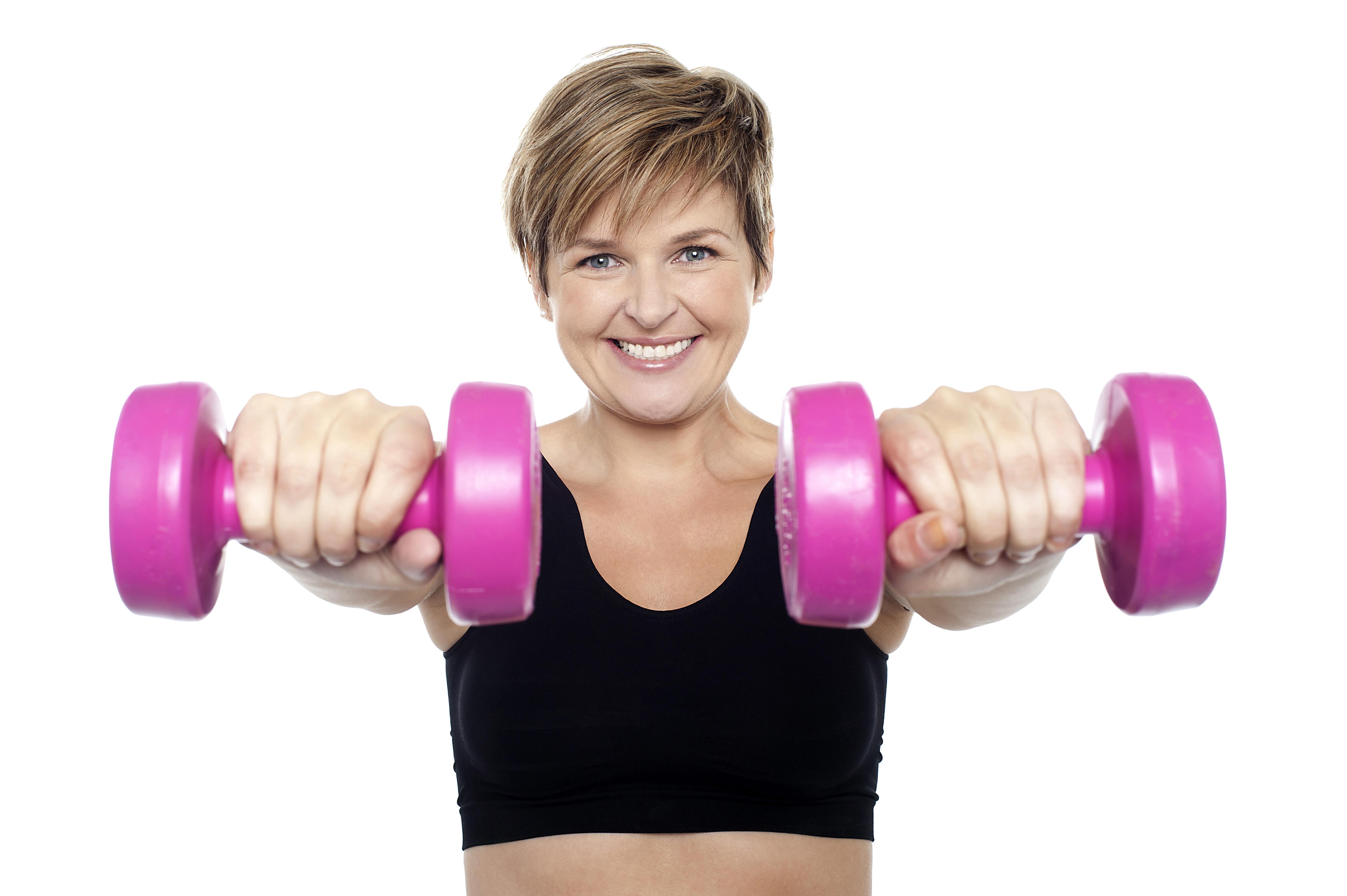 Women Exercising PNG Image