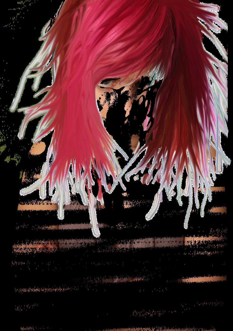 Women Hair Pink PNG Image