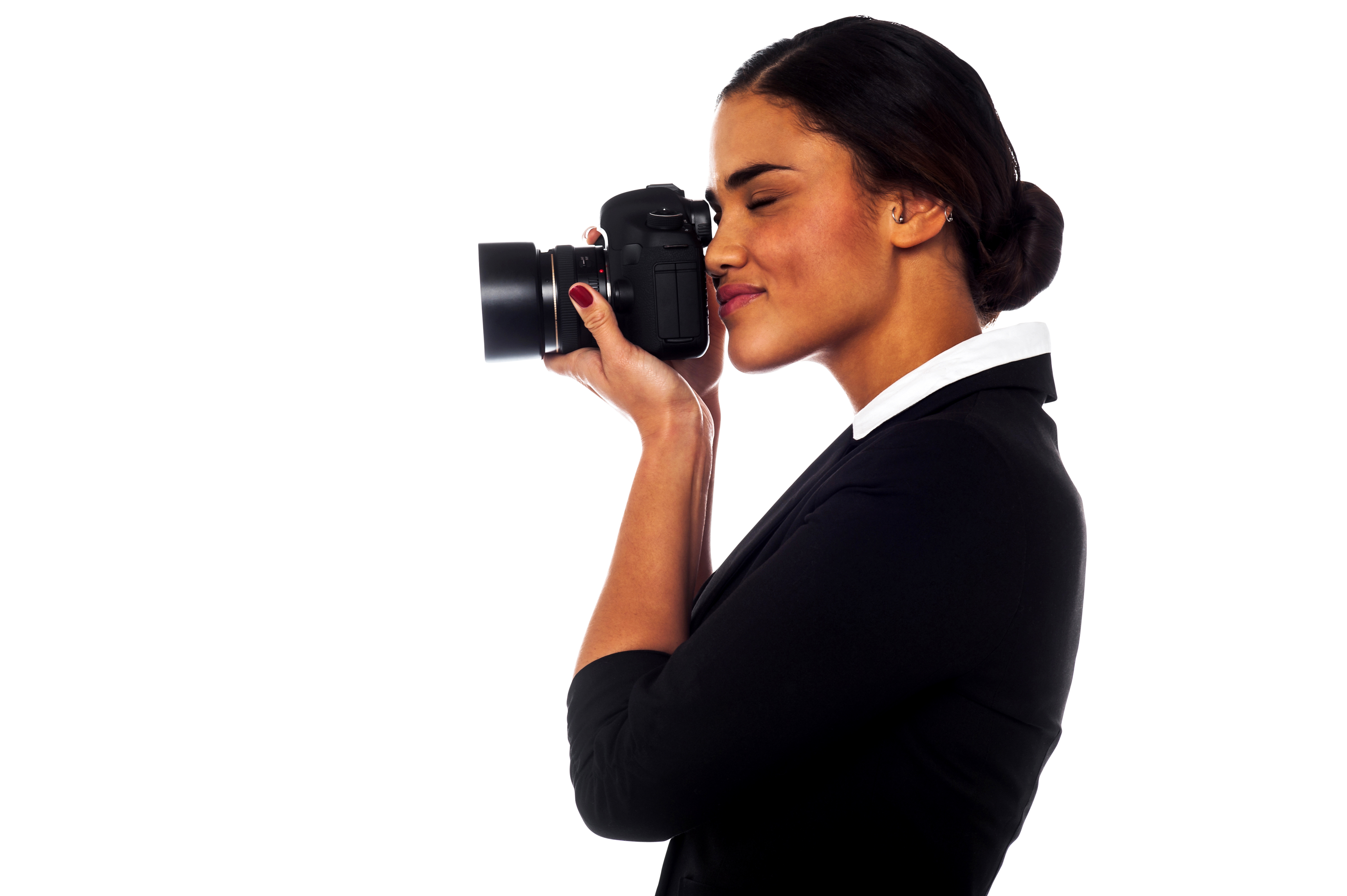 Women In Suit PNG Image