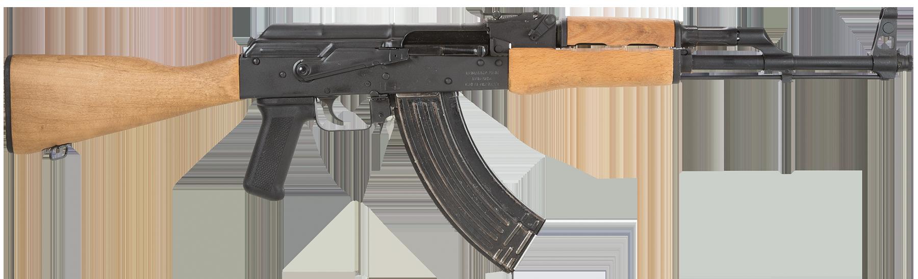 Wooden AK-47 PNG Image