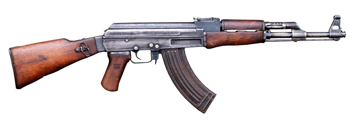 Wooden AK-47