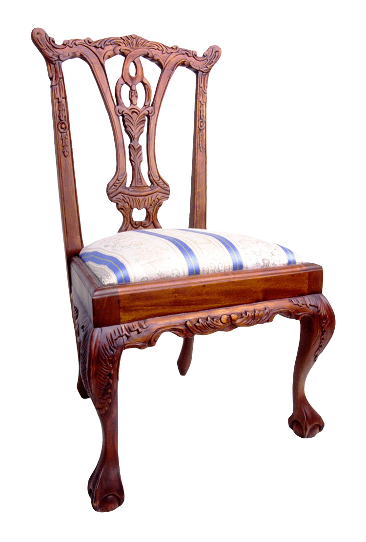Wooden Chair PNG Image