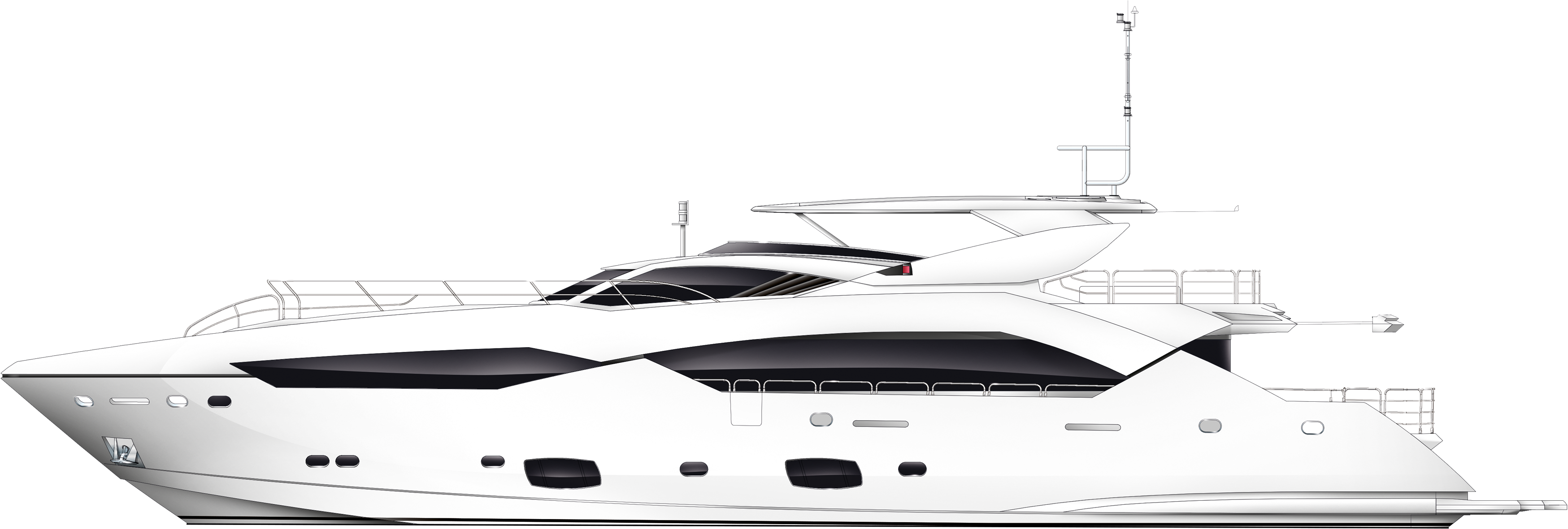 Download Yacht PNG Image for Free