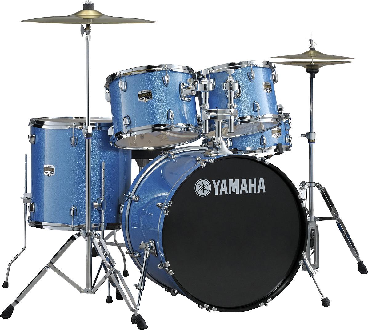 Yamaha Drums Kit PNG Image