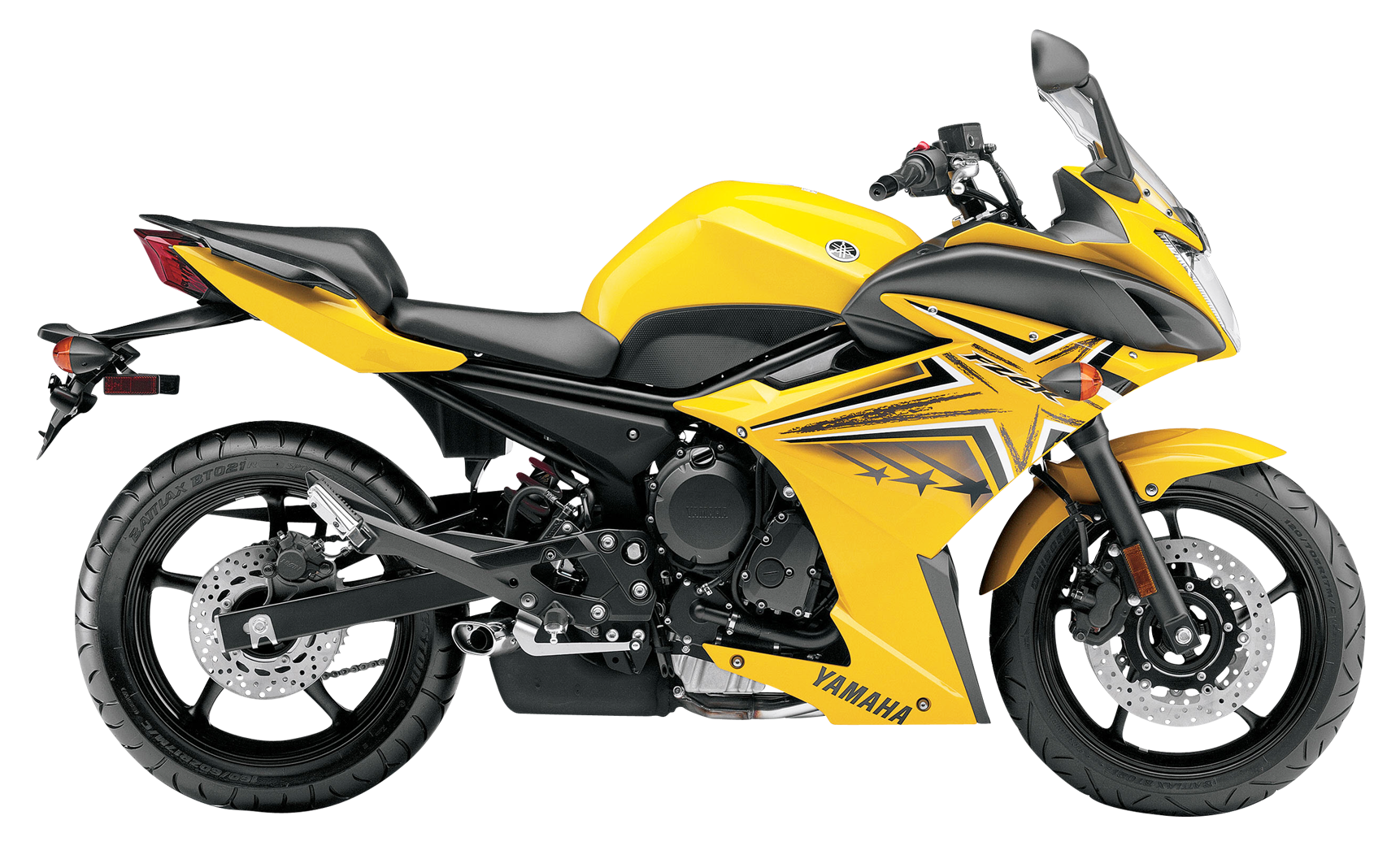 Yamaha FZ6R PNG Image