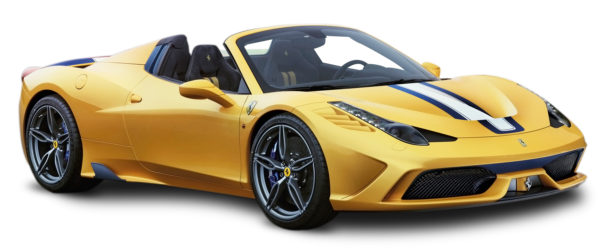 Yellow Ferrari 458 Speciale Car Png Image For Free Download