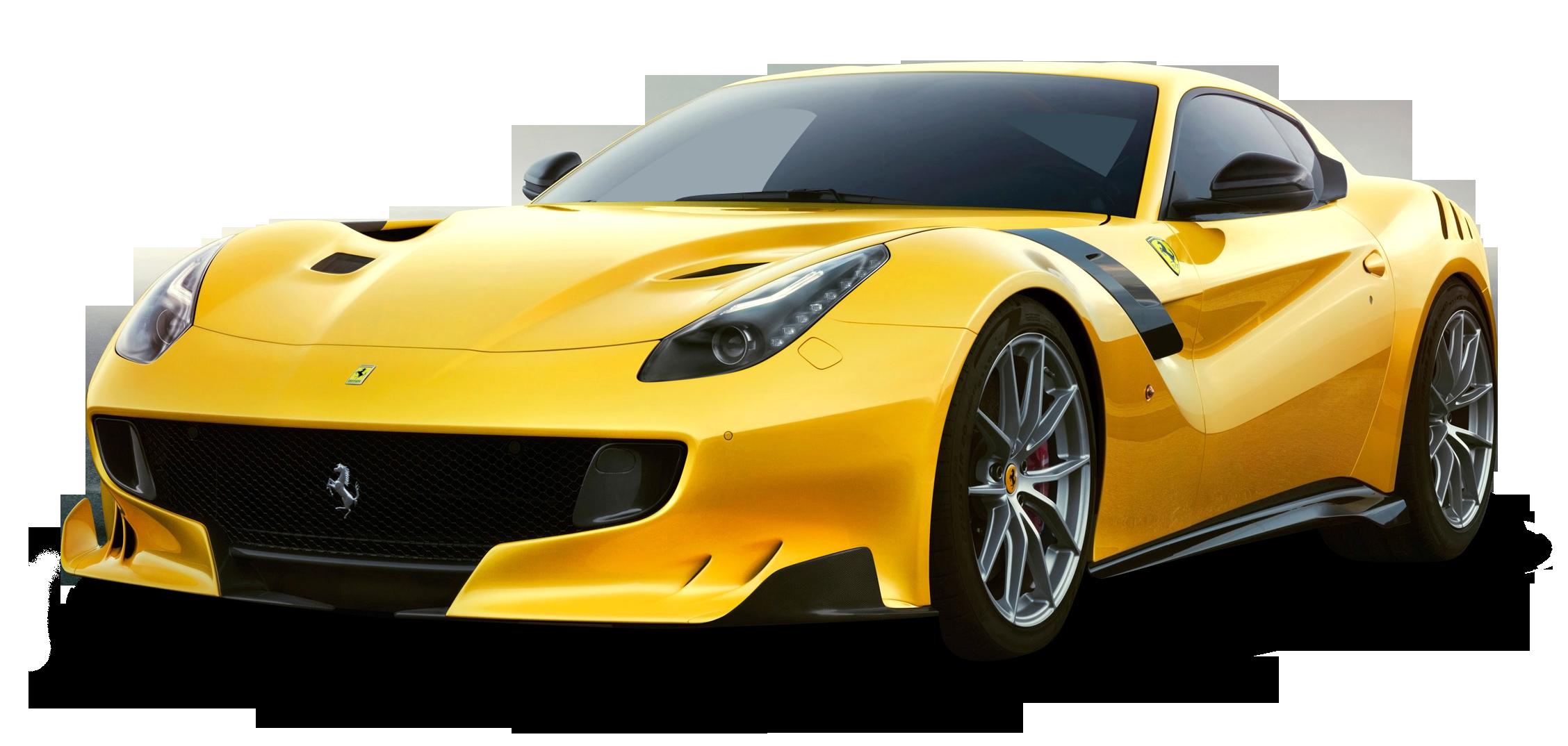 Yellow Ferrari F12tdf Car Png Image Purepng Free Transparent Cc0 Png Image Library