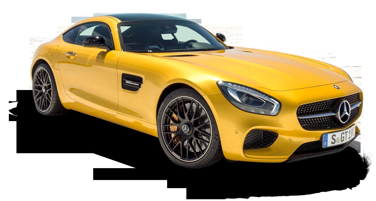 Yellow Mercedes AMG GT Solarbeam Car