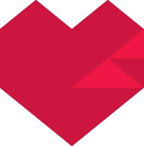 Red Pixel Heart