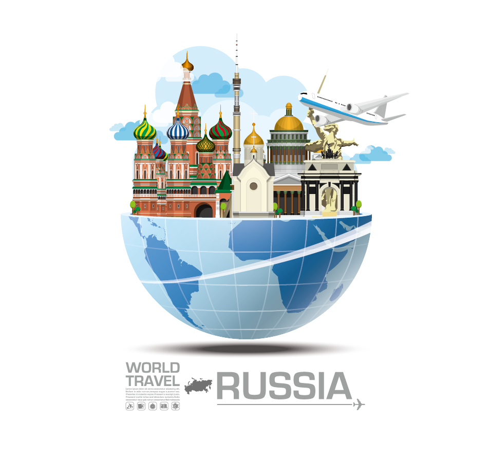 Sights of Russia PNG Image