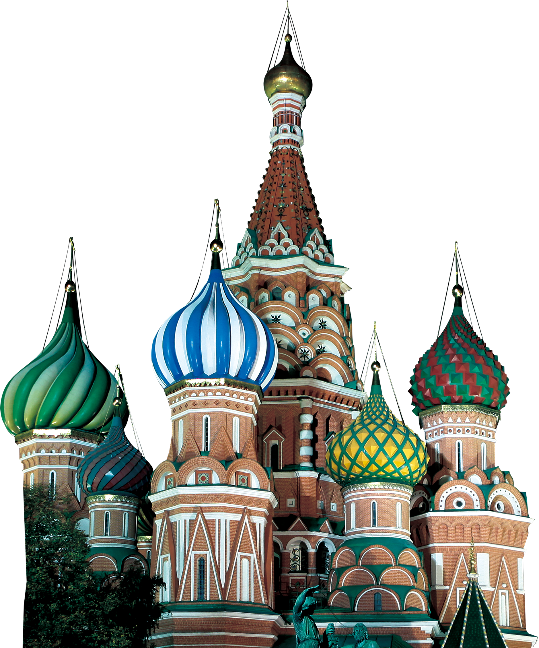 St. Peter's Cathederal  - Russia PNG Image
