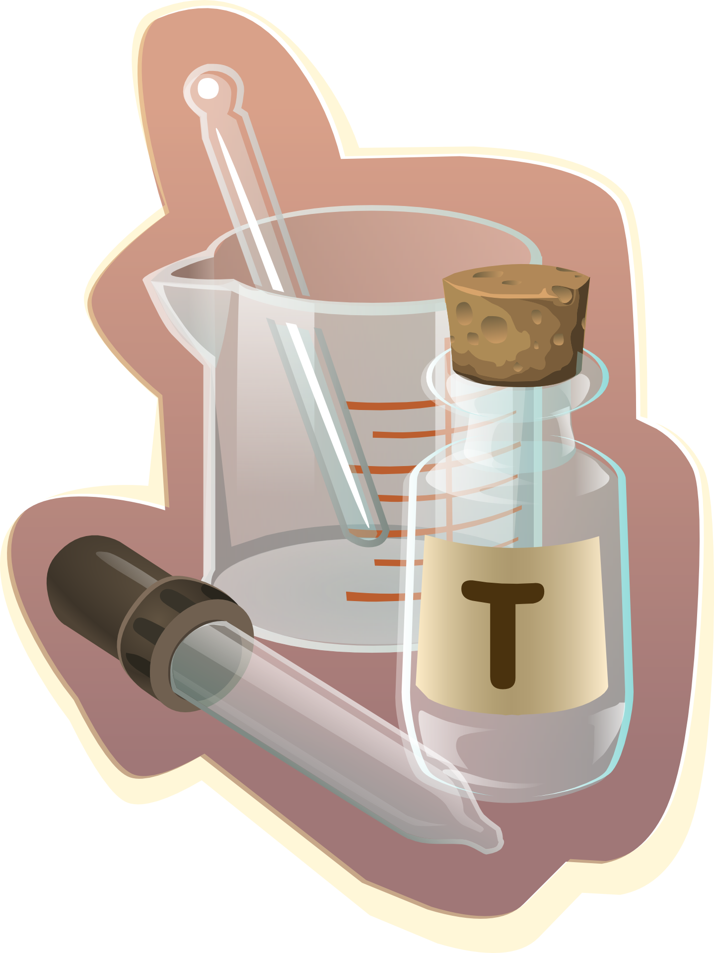 Science Lab Equipment PNG Image