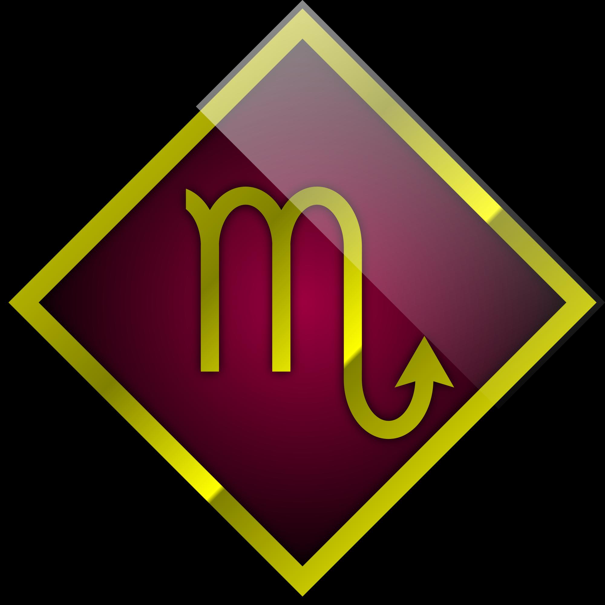 Scorpio Symbol PNG Image