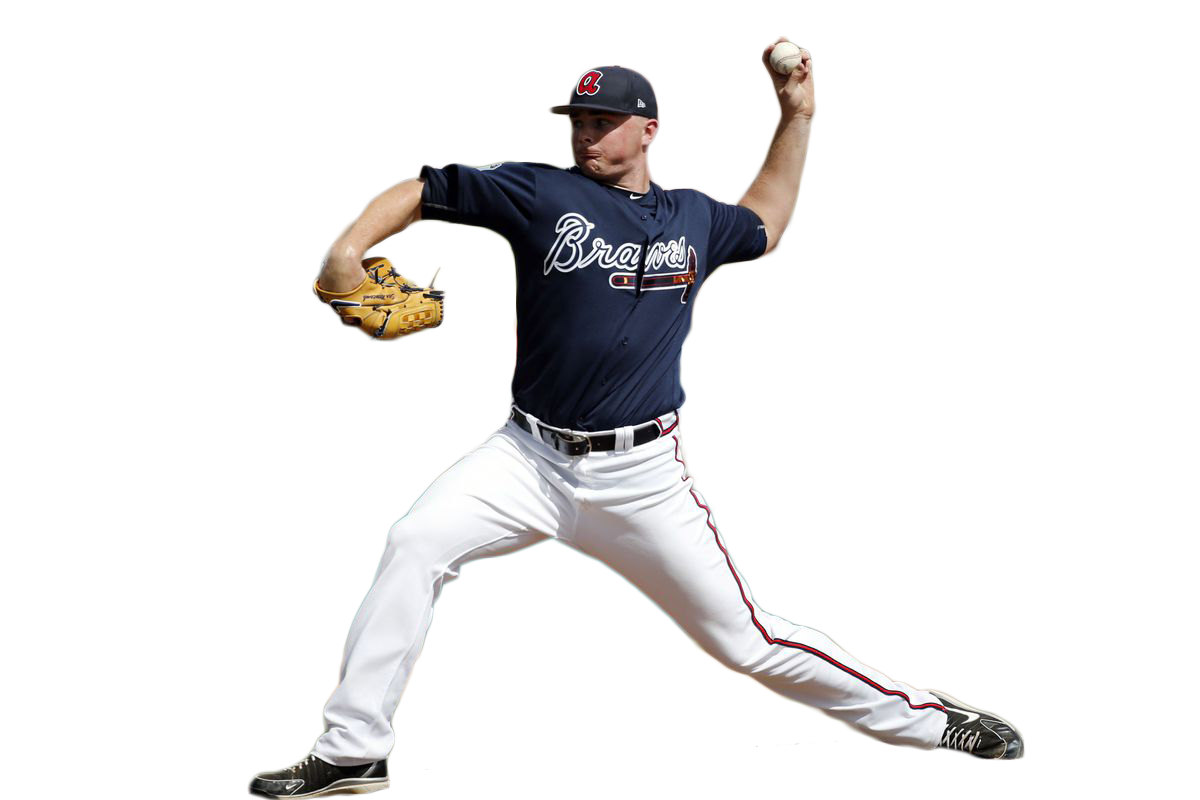 Sean Newcomb Throwing a Ball