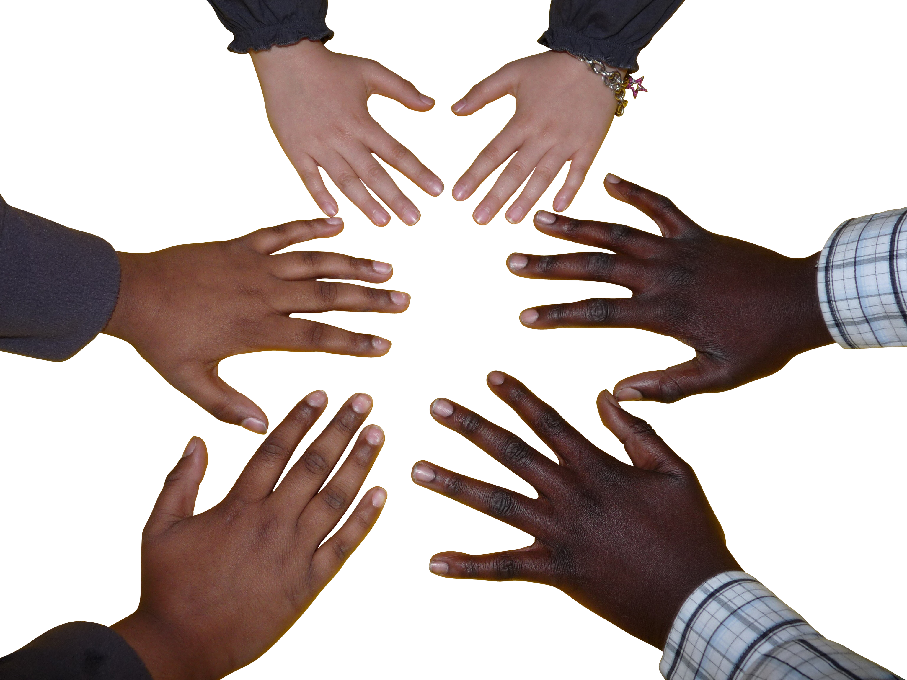 Six Hands PNG Image