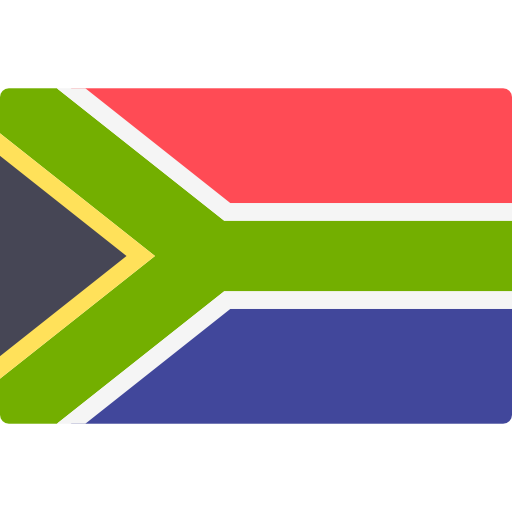 South African Flag PNG Image