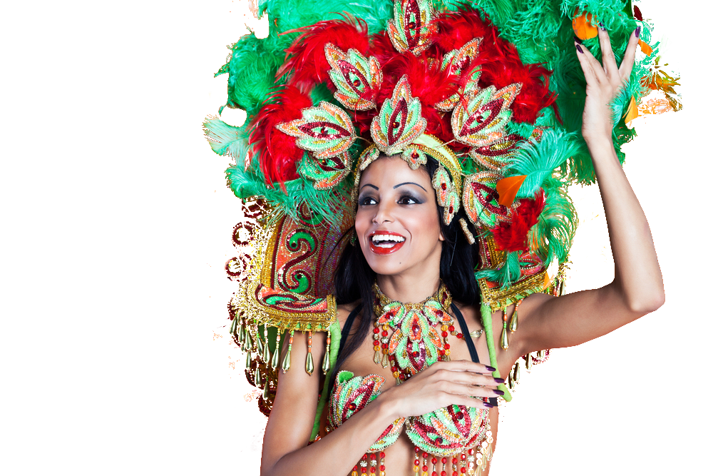 South American Carneval Dancer