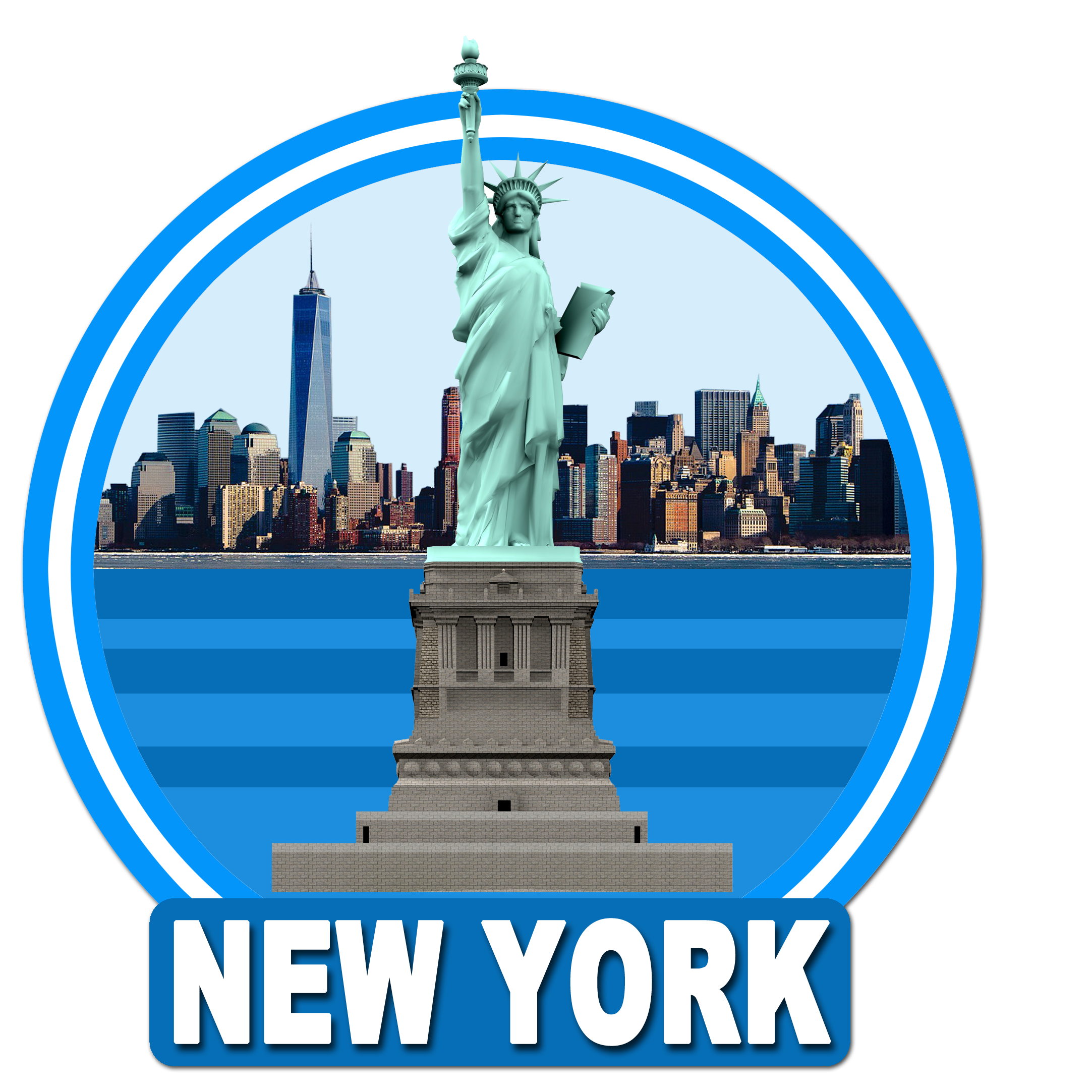 Statue of Liberty in New York PNG Image
