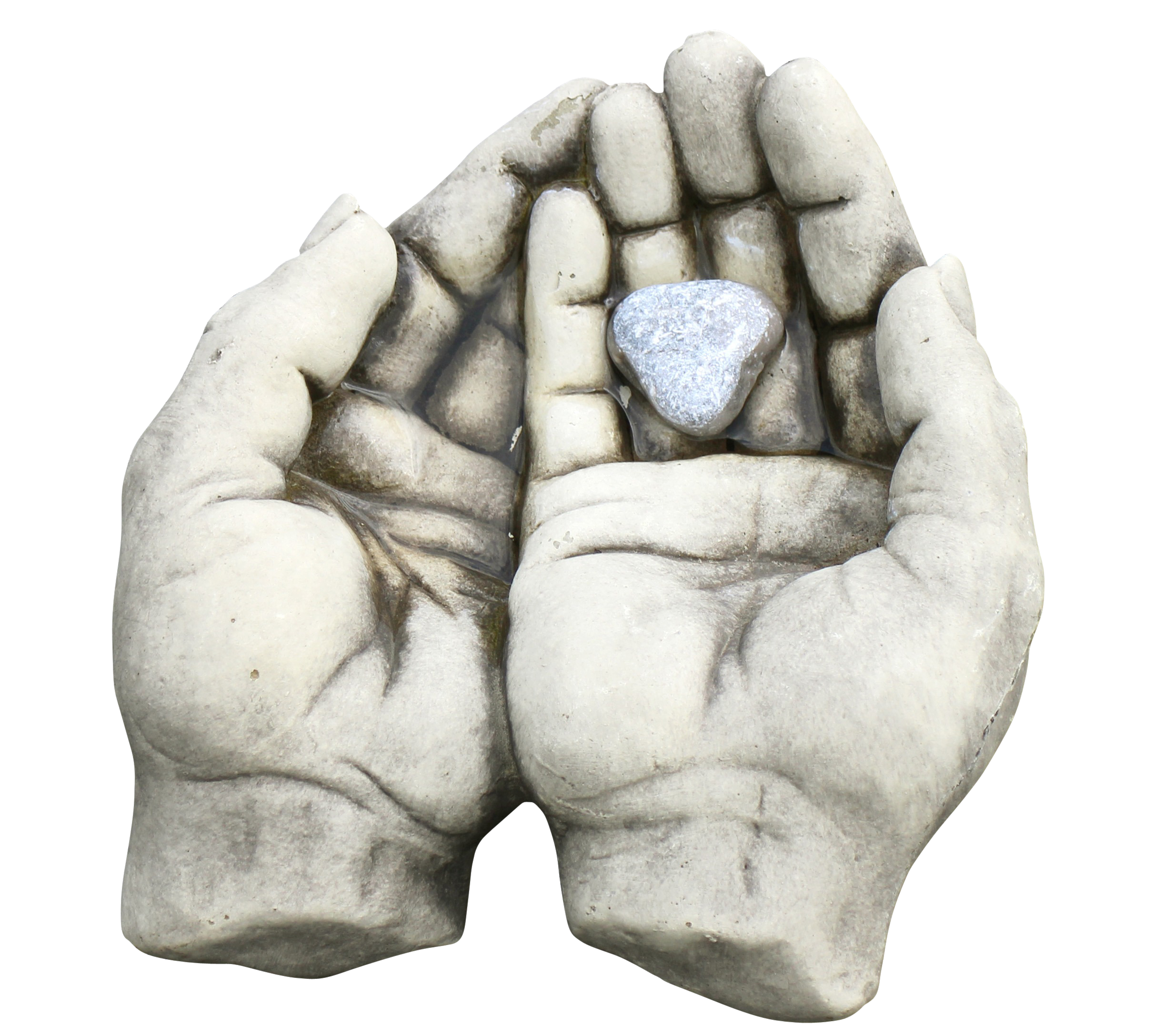 Stone made Hands PNG Image