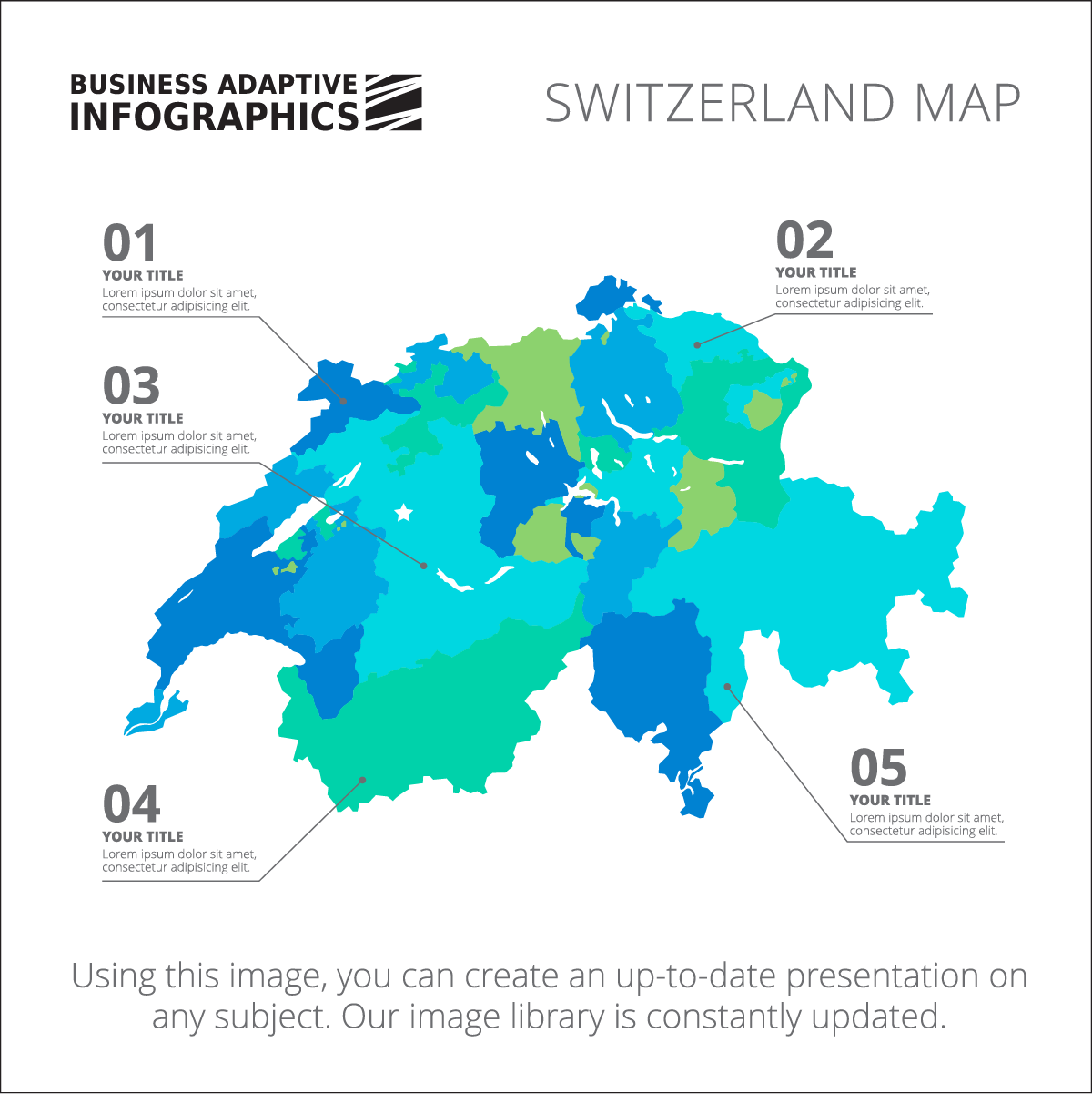 Switzerland Map PNG Image