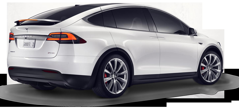 Tesla Model X from side
