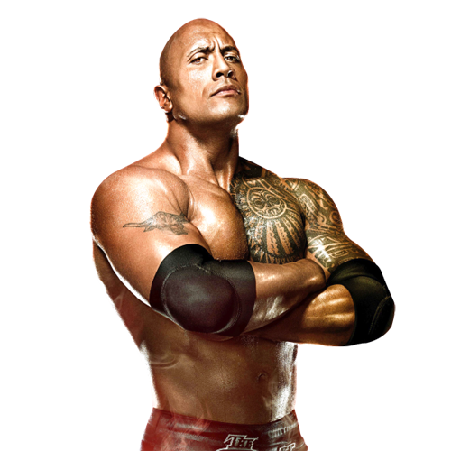 THE ROCK DWAYNE JOHNSON WWE