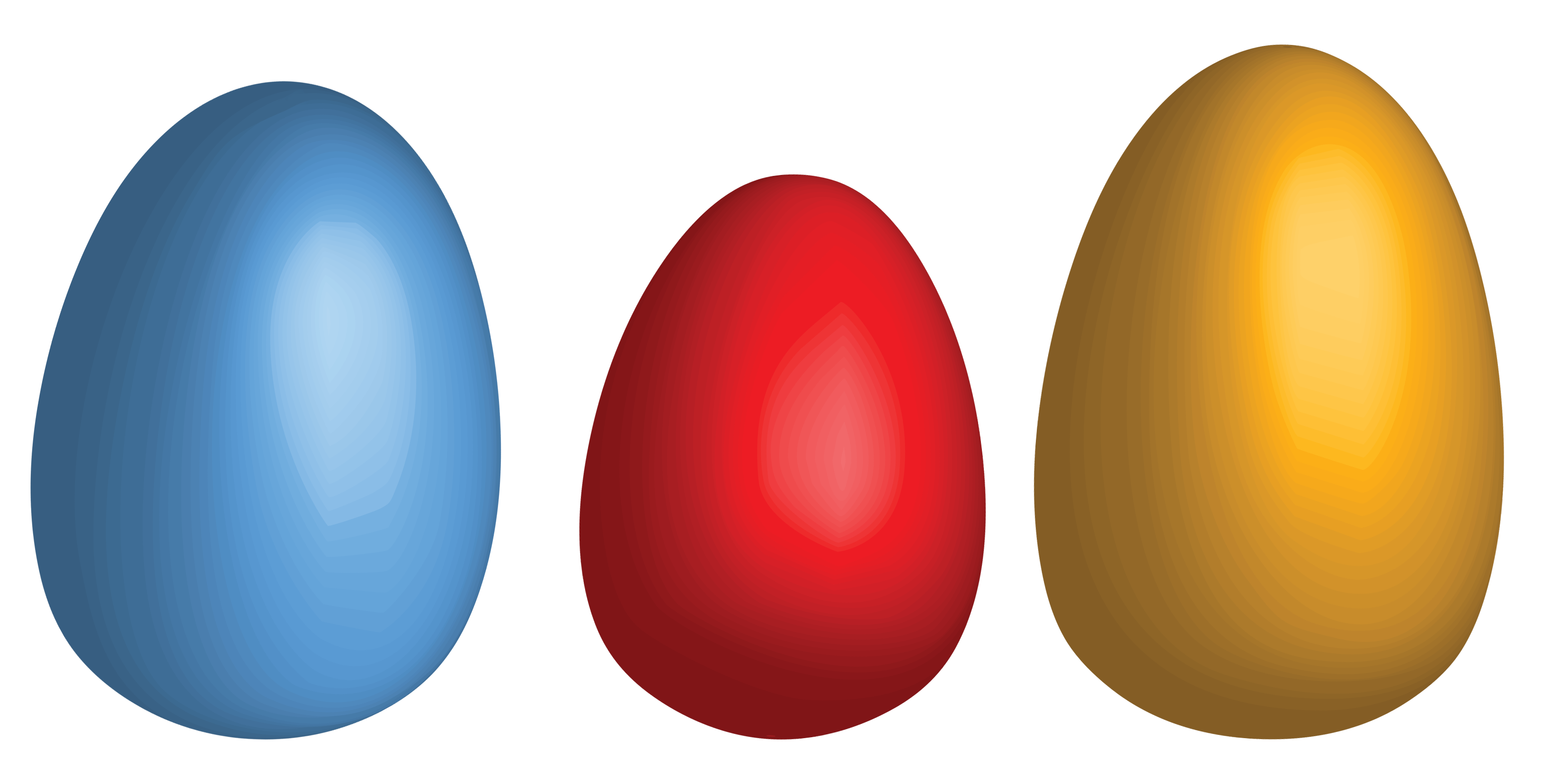 Three Eggs PNG Image