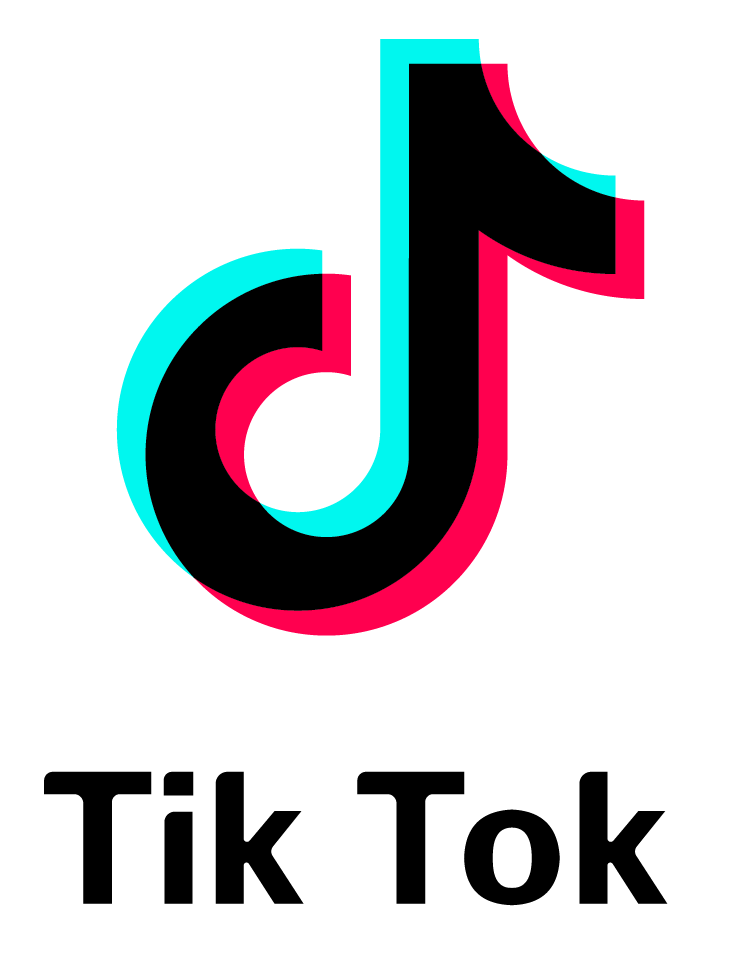 Tik Tok Logo With Font