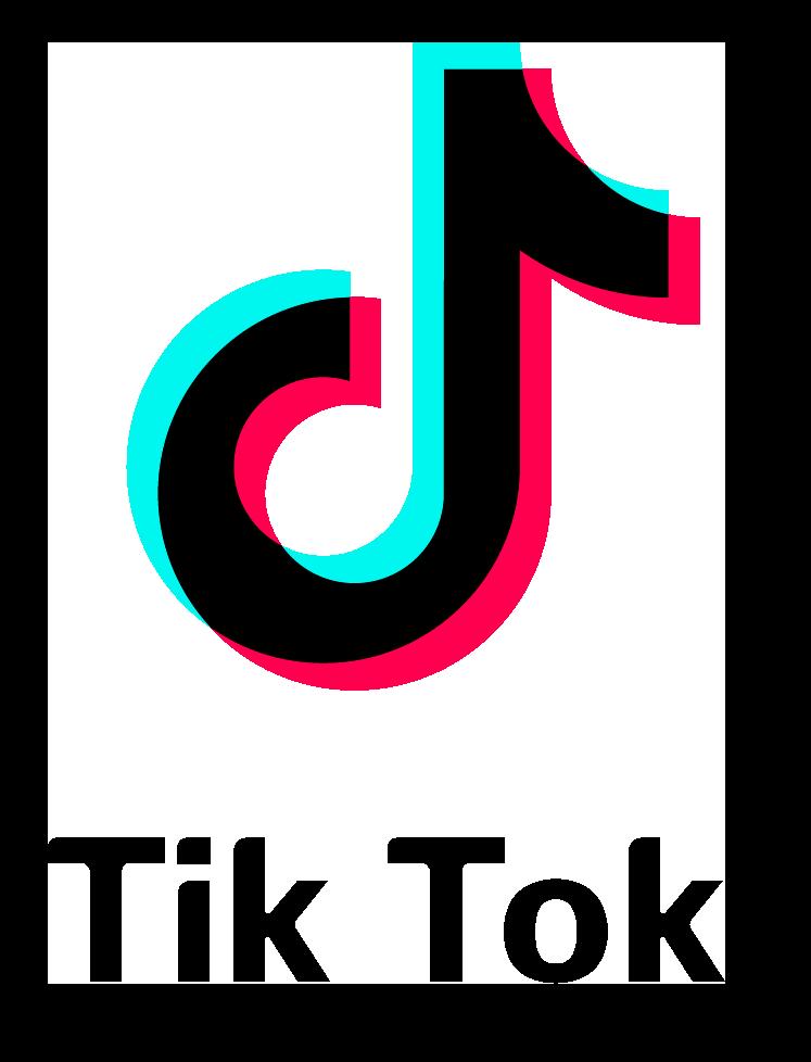 Tik Tok Logo With Font PNG Image