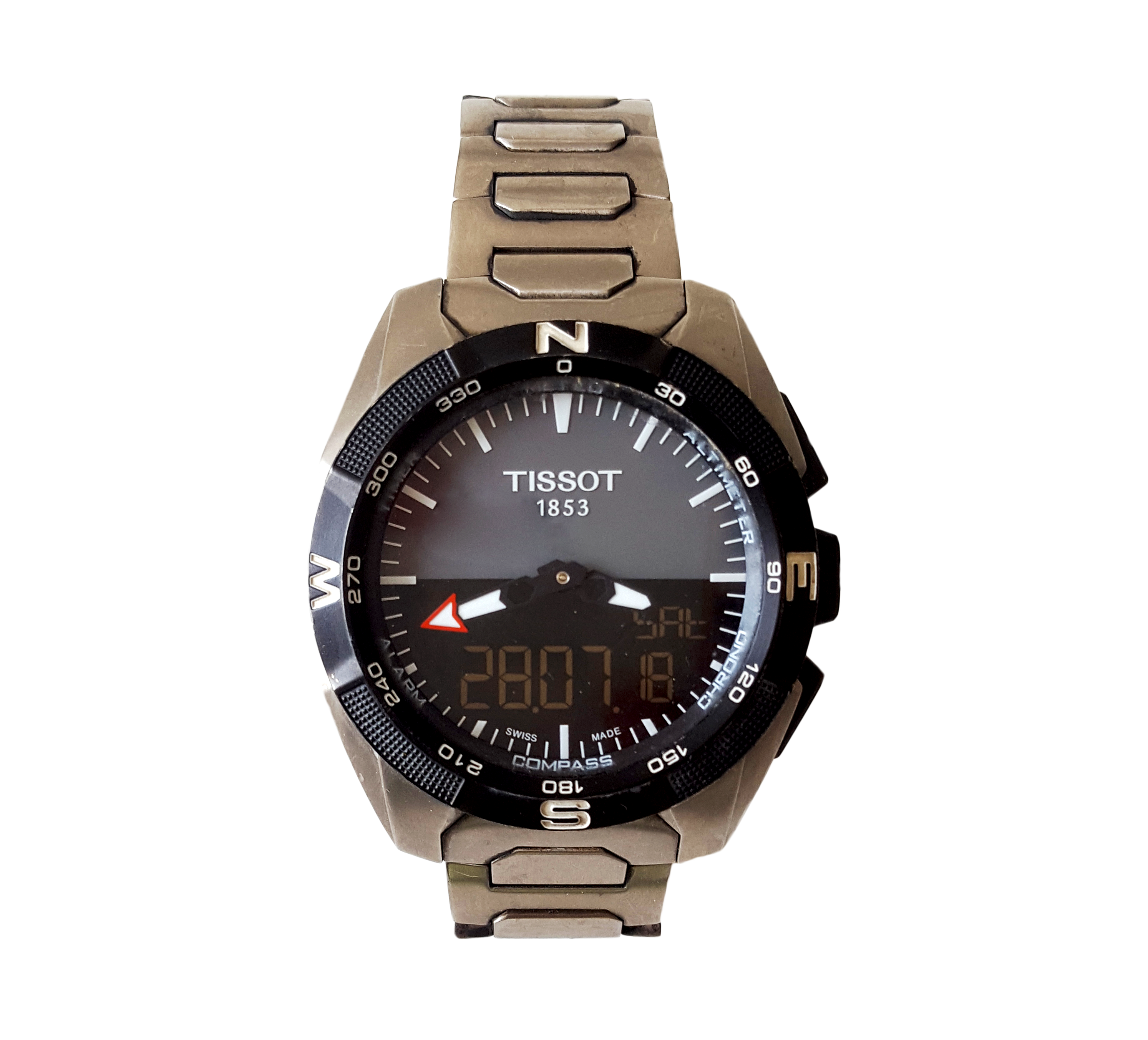 Tissot T-Touch Solar E84 PNG Image