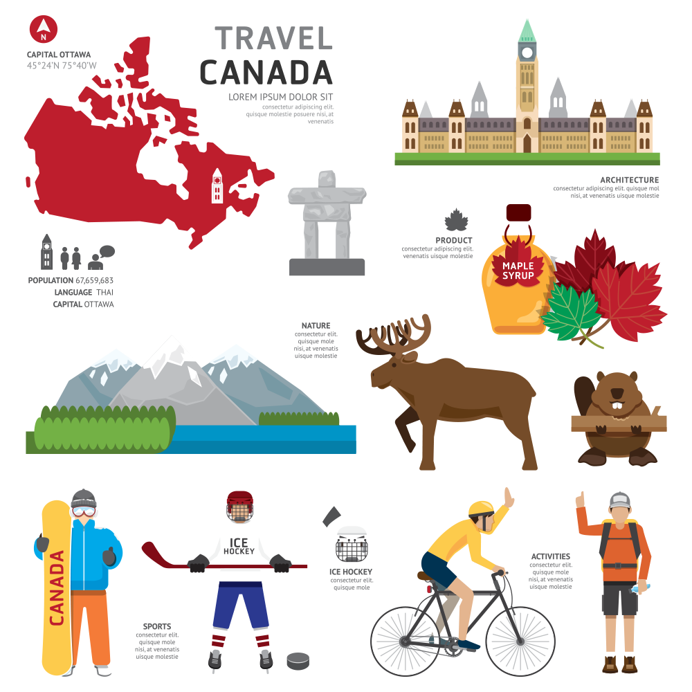 Travel Canada PNG Image