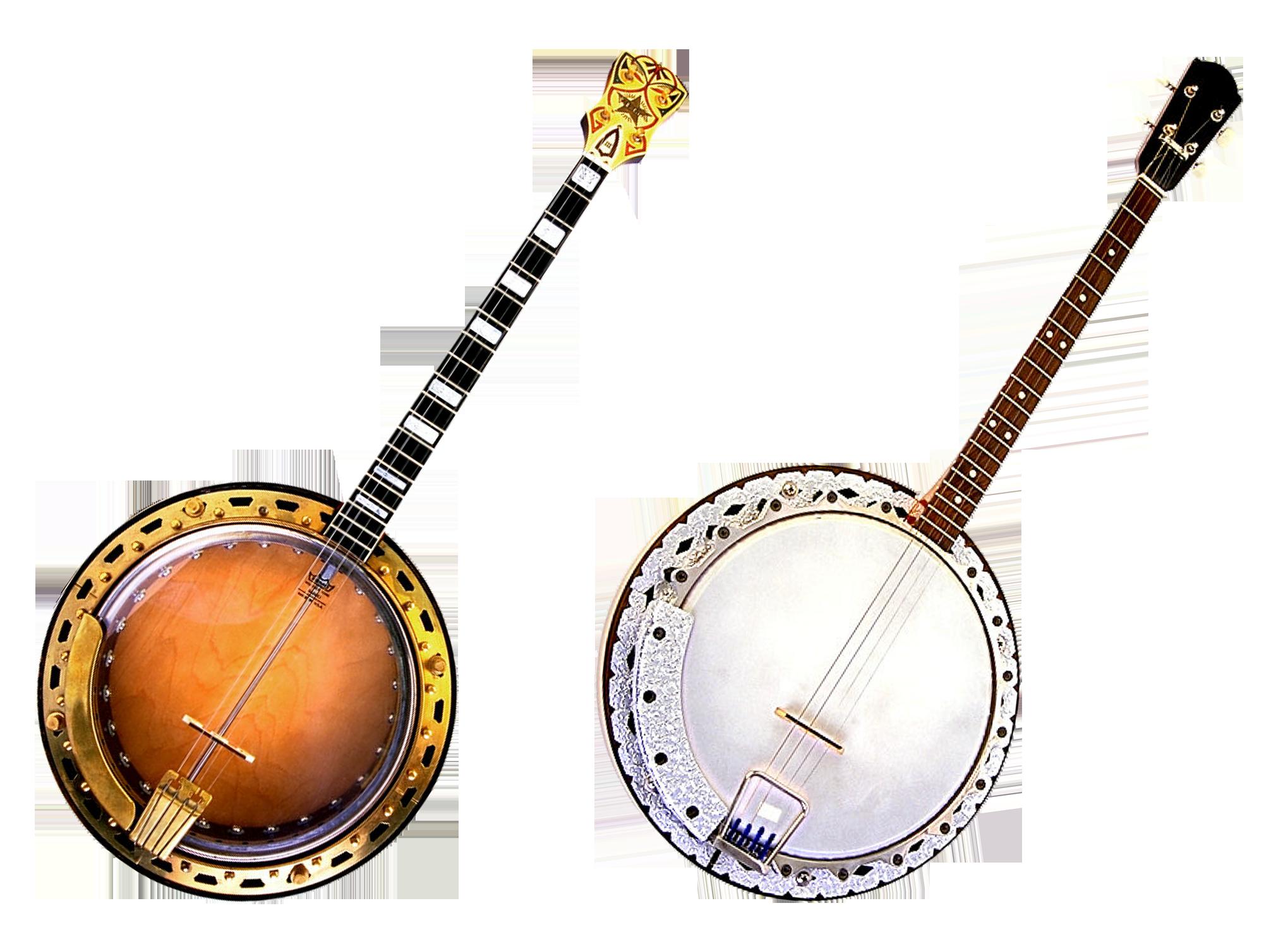 Two Banjo Instruments