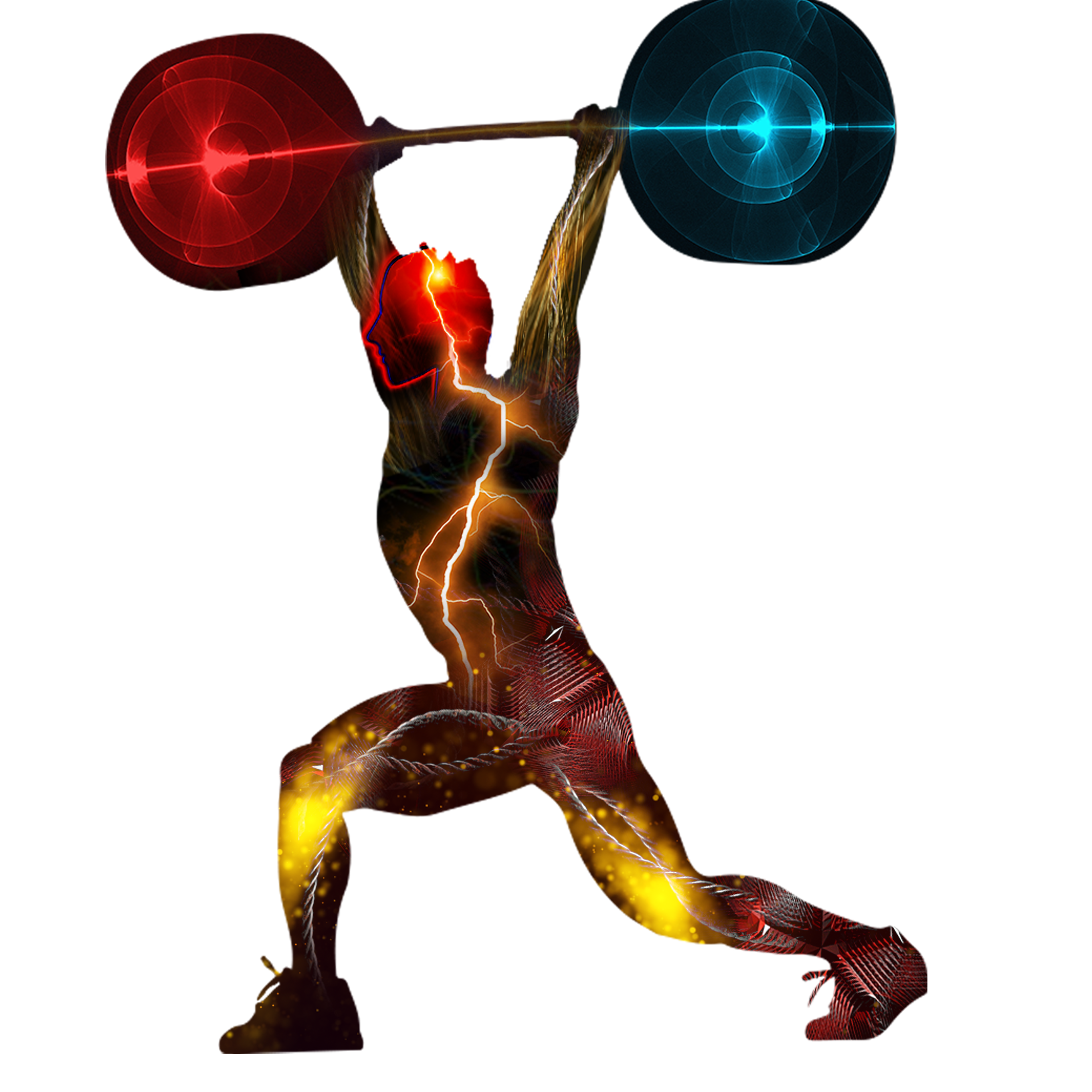 Weightlifting Barbell PNG Image