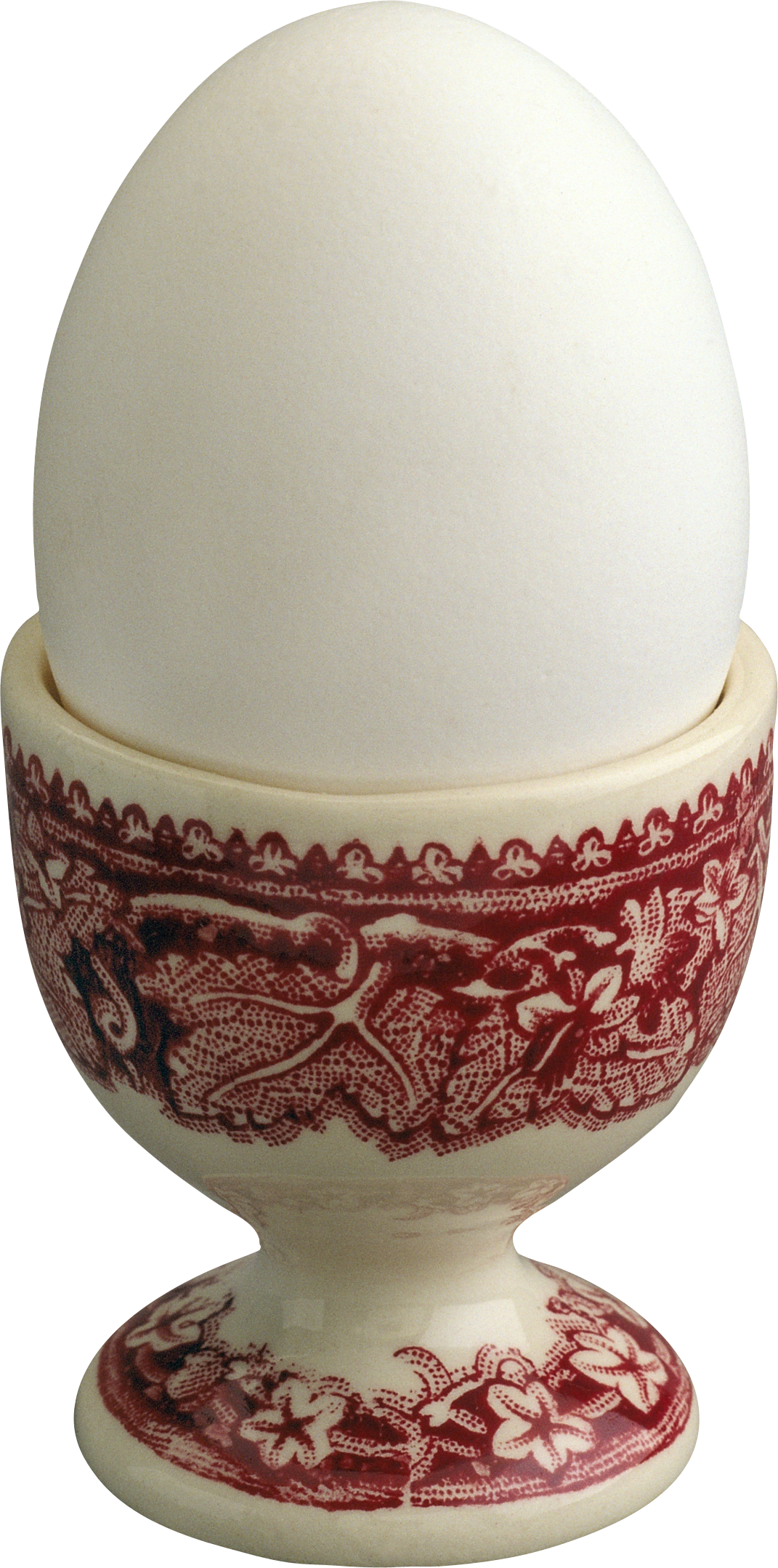 White Egg in Egg Cup
