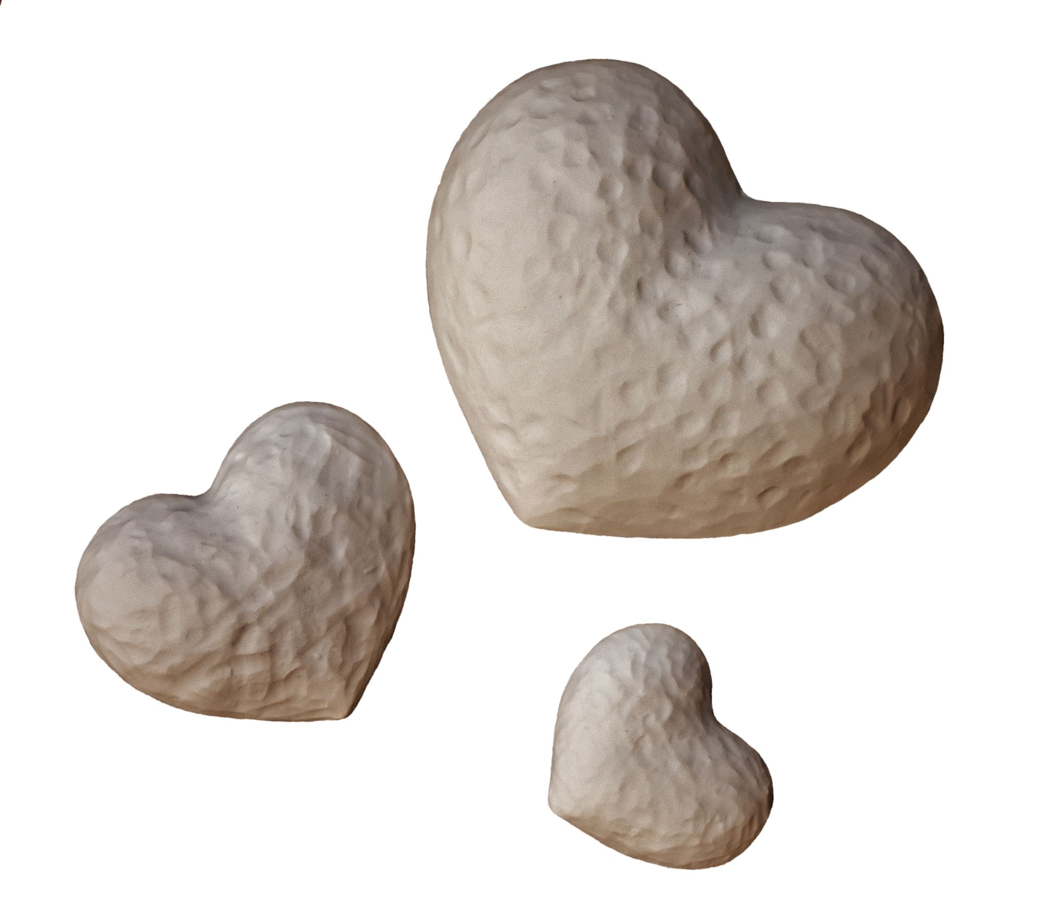 White Hearts PNG Image