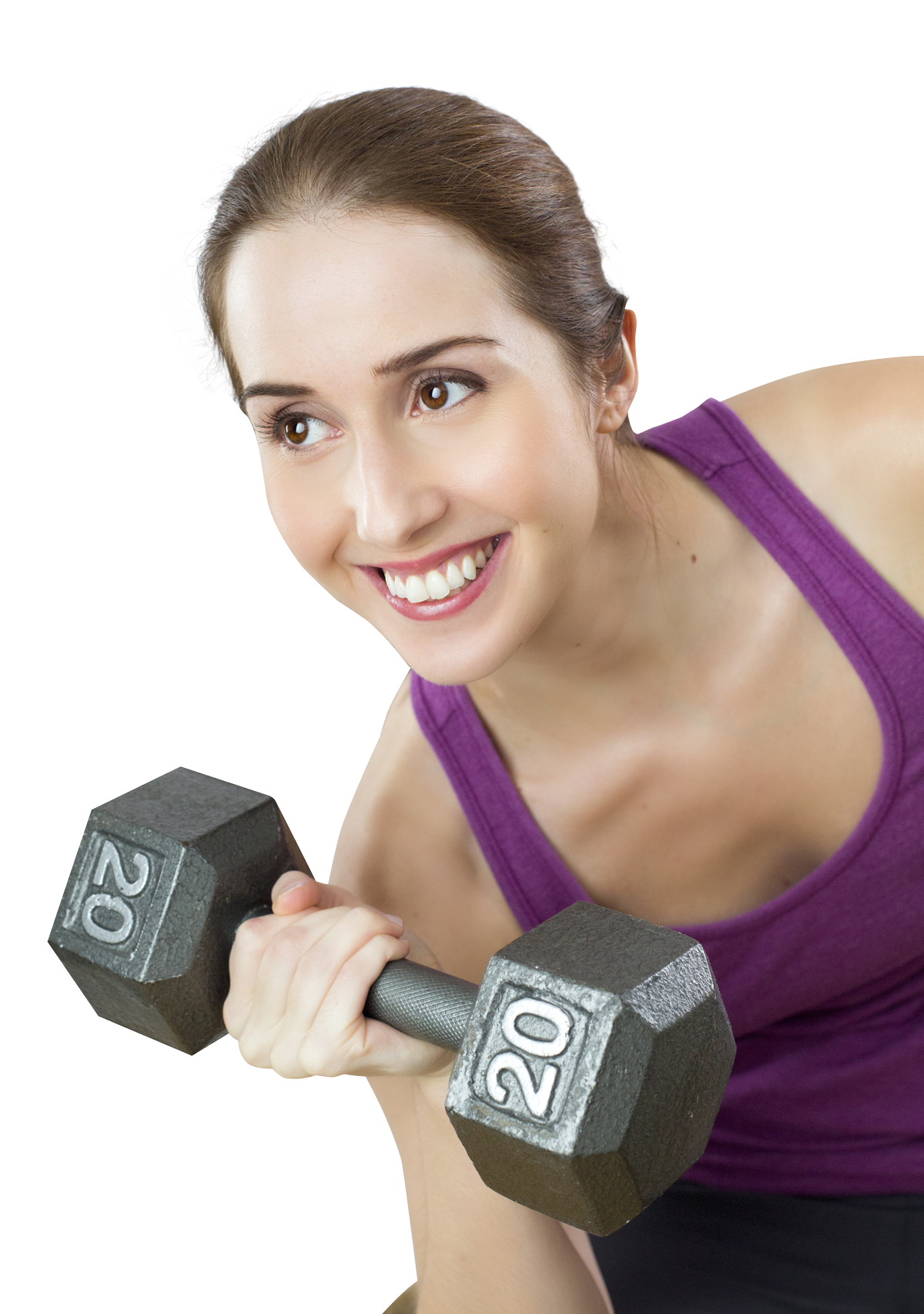 Woman exercising PNG Image