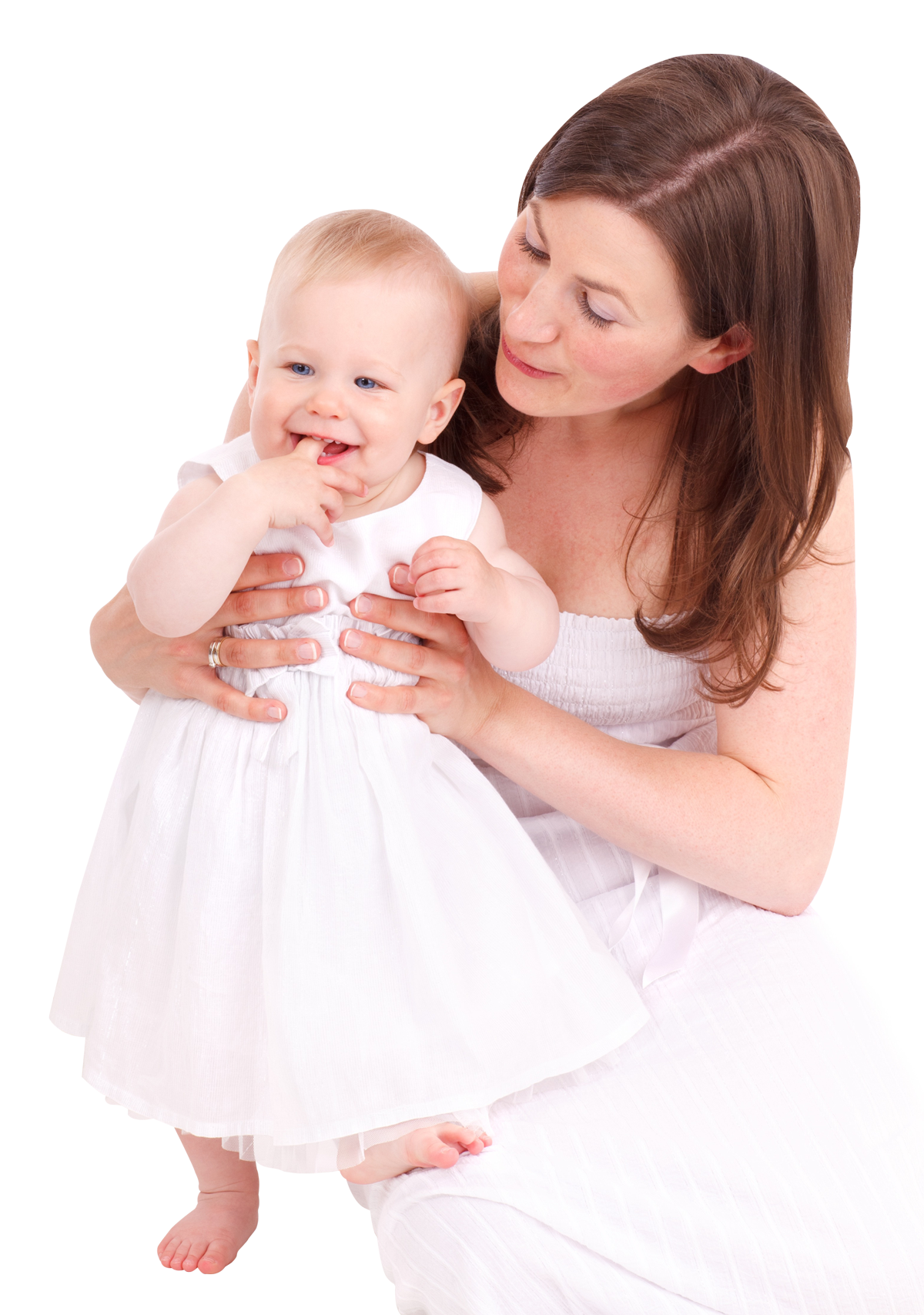Woman with kid PNG Image