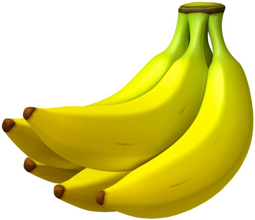 Yellow Sweet Bananas PNG Image