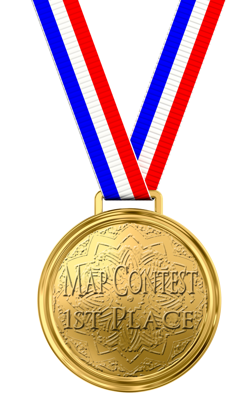 1st Place Medal PNG Image