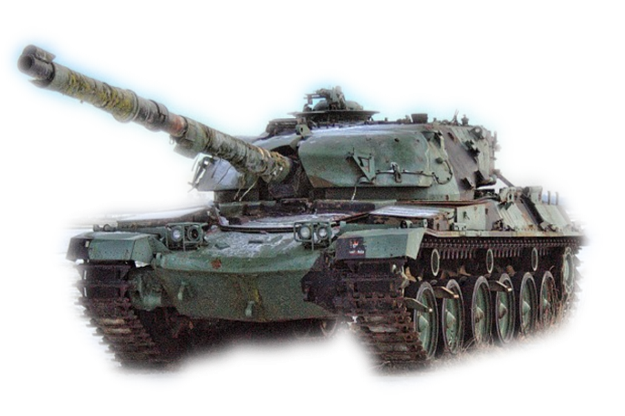 Miltary Tank Weapon PNG Image