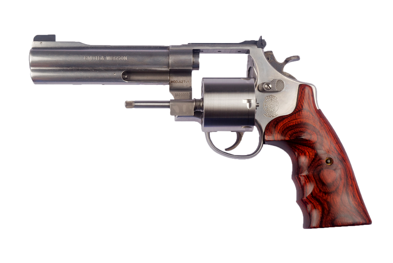Smith and Wesson Revolver PNG Image